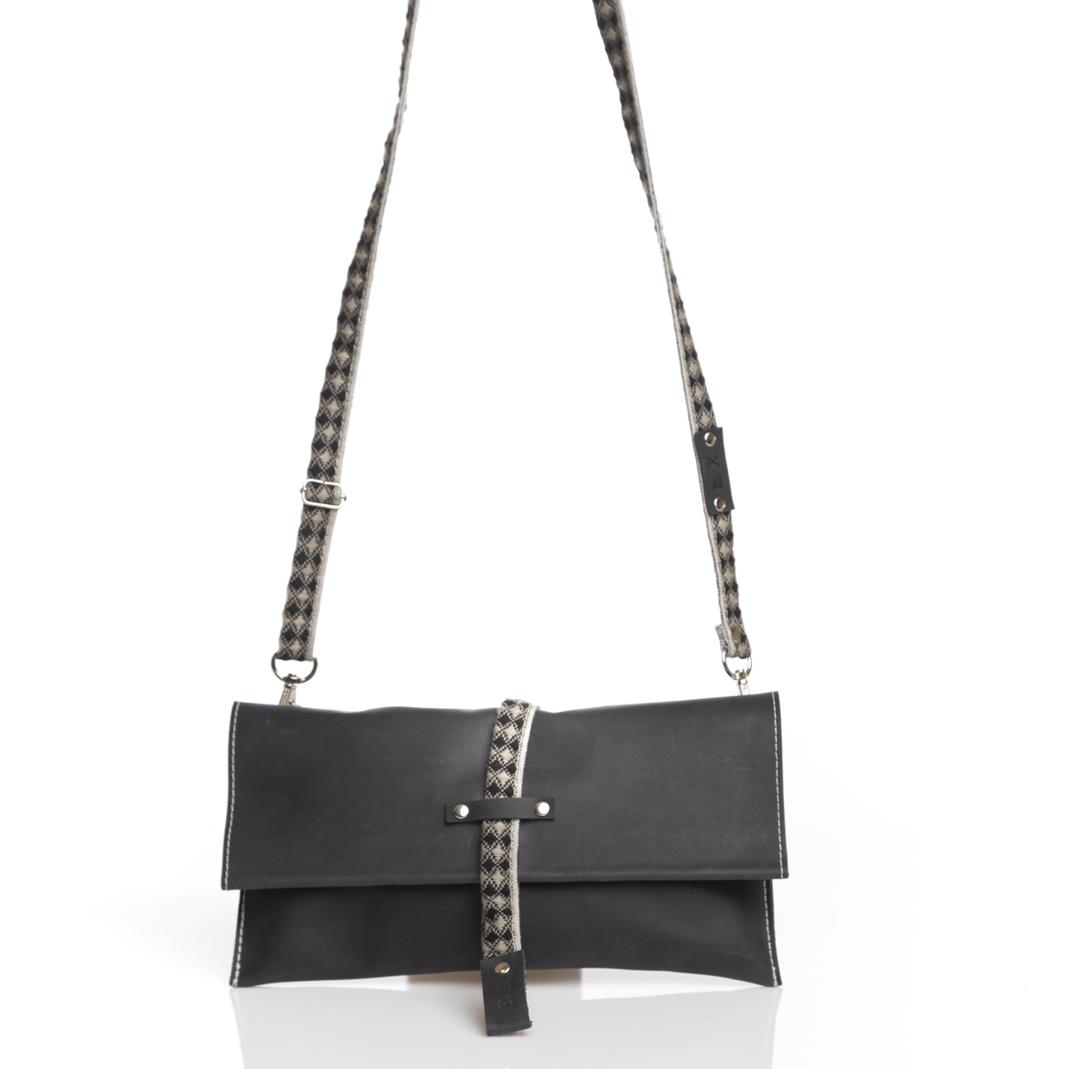 MINI BAG BLACK & GRAY